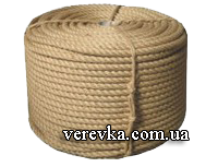 Джутовая веревка 097-96-601-66 веревка джутовая
