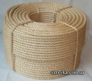 5deab45fe945 Сизалевая веревка для когтечточки когтедралки чисто белая