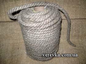 Веревка пеньковая 097 96-601-66 Пенька