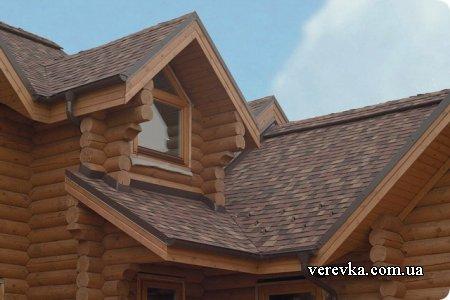 Несущие элементы крыши деревянного дома